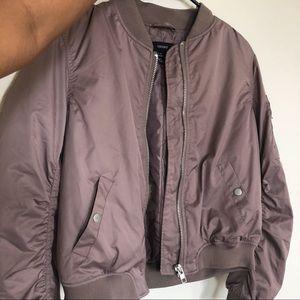 F21 Women's Bomber Jacket